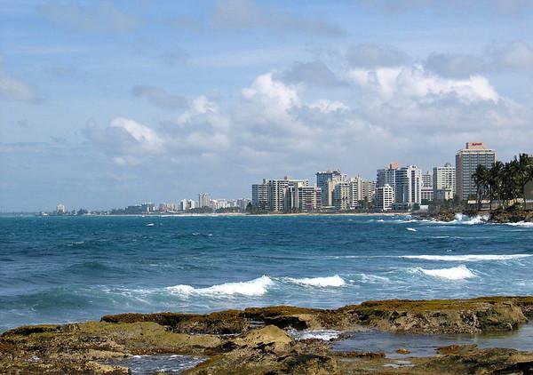 Puerta de Tierra (town) to Condado Beach