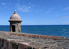 Garita (sentry post) along the fortress wall of  - Castillo de San Cristabol (St. Christopher Castle)