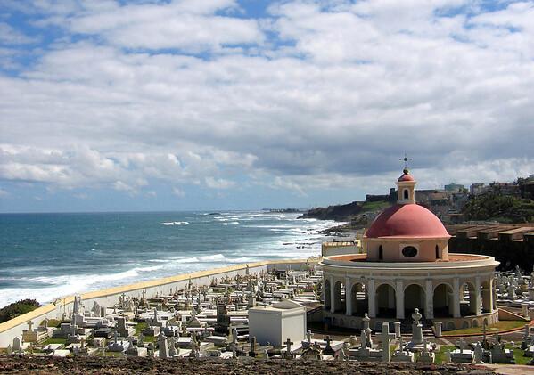 Cementerio Santa Maria Magdalena De Pazzis - San Cristobal Fort - and Old Town San Juan