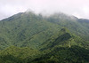El Yunque National Forest - highway 191, up the Luguillo Mountains, rising > 3,500 ft. (1,067 m)