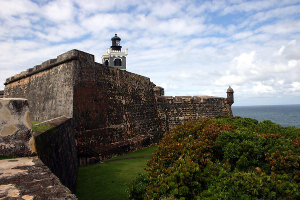 El Morro - Ochoa Bastion (northeast fortified section of the fortress)