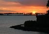 Sunset over Isle de Cabras (Goat Island) & Paseo de la Princesa (Walk of the Princess)