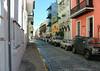 Calle Viejo (old street) of  Old Town San Juan