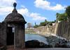 From a garita along the Paseo de la Princesa (Walk of the Princess) - a promenade built in 1854 along the base of the old city fortress wall