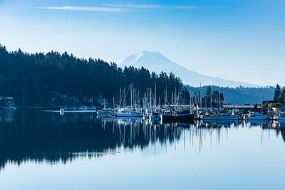 Dawn at Gig Harbor, Washington