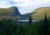 Across Lac Ha Ha (Lake Ha Ha) - to the Mont du Four - Charlevoix region - Quebec