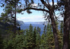 Northwestern view up the Saguenay Fjord and River - from L'Anse Saint Jean - Saguenay Fjord National Park - Quebec