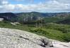 West view from Mont du Lac des Cygnes - Grand Gardens National Park - Quebec