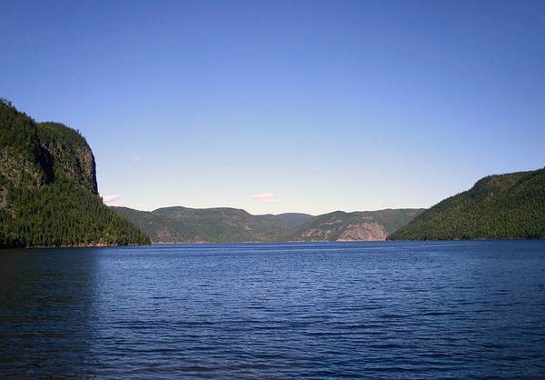 Northeastward across the Baie Éternité (Eternity Bay) - to the Saguenay Fjord and River - Saguenay Fjord National Park - Quebec