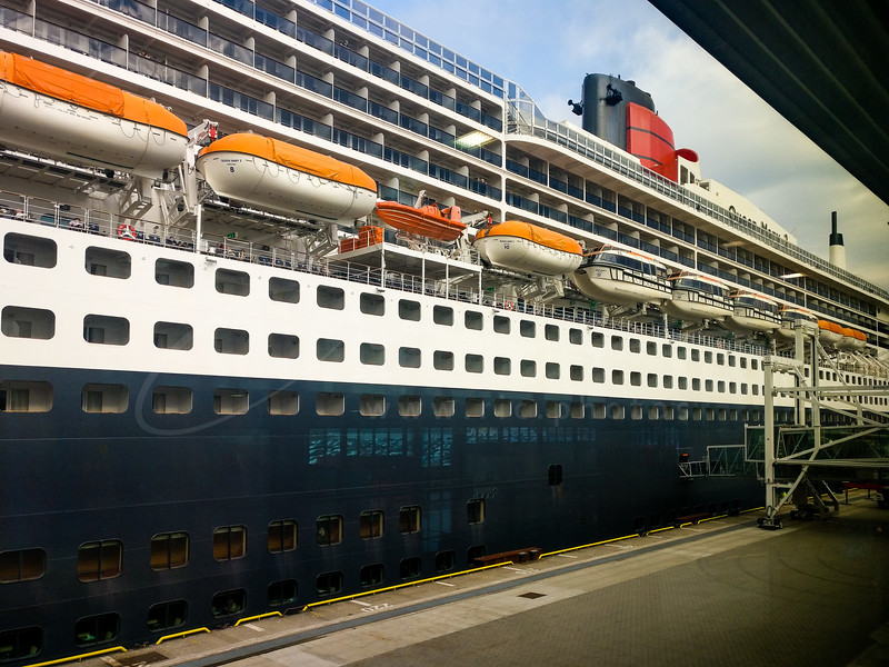 Queen Mary II  - october 2018
