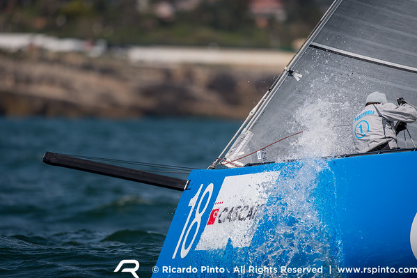 Day 1 of the 2014 RC44 Cascais Cup