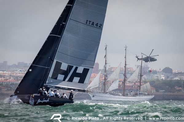 Day 2 of the 2014 RC44 Cascais Cup