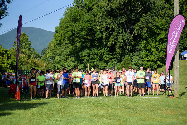 Corkscrew Racing BE BOLD Trail 5k at Bold Rock Cidery, Nellysford