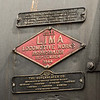 Mfg plate for NKP 765.  1944 from the Lima Locomotive Works.  What a beauty she is.