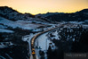 bnsf_5355_grain_train_bozeman_pass_sunrise