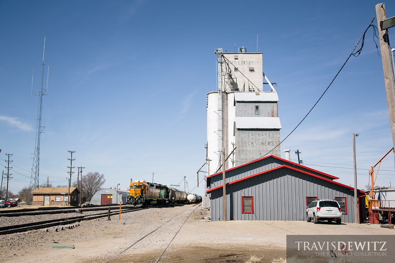 No. 6757 - BNSF Railway - Dalhart, Tex.