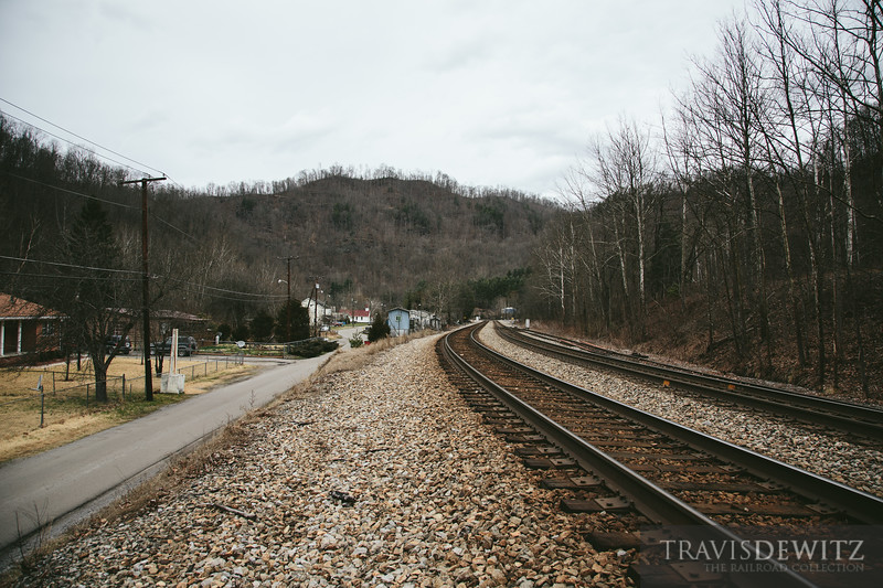 Norfolk Southern mainline through Maitland looking west.