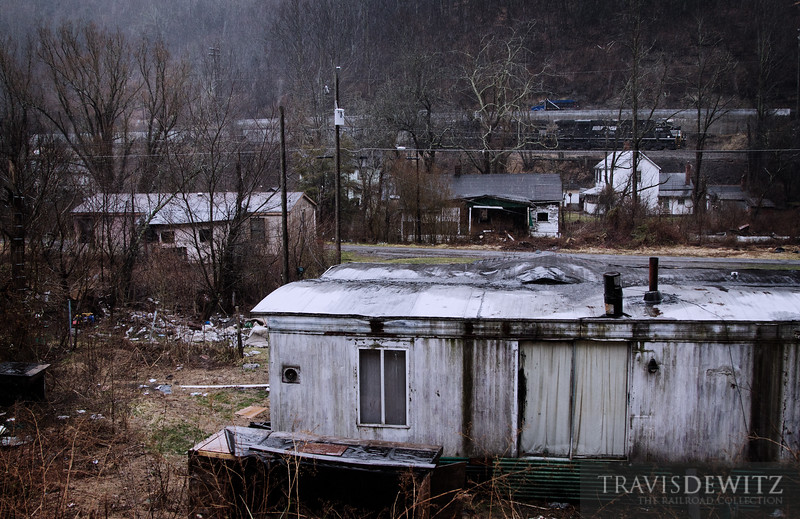 "Switchback, West Virginia has seen better days even though the coal that has built this area continues to pass by on its way to Bluefield and points beyond.  Travis Dewitz <a href=""http://www.therailroadcollection.com/latest-works/"" target=""_blank"">The Railroad Collection</a>"