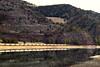 The Montana Rail Link gas local heads east towards Missoula, Montana taken near Paradise.