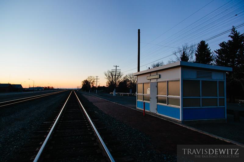 No. 3783 - Amtrak - Shoshone, Idaho