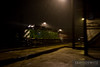 """Ex Burlington Northern SD40-2 leads as WSOR 4013 through a thunderstorm past Rondout Tower running towards Chicago.  Travis Dewitz <a href=""""http://www.therailroadcollection.com/latest-works/"""" target=""""_blank"""">The Railroad Collection</a>"""