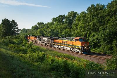 No. 5874 - BNSF Railway - Alma, Wis.
