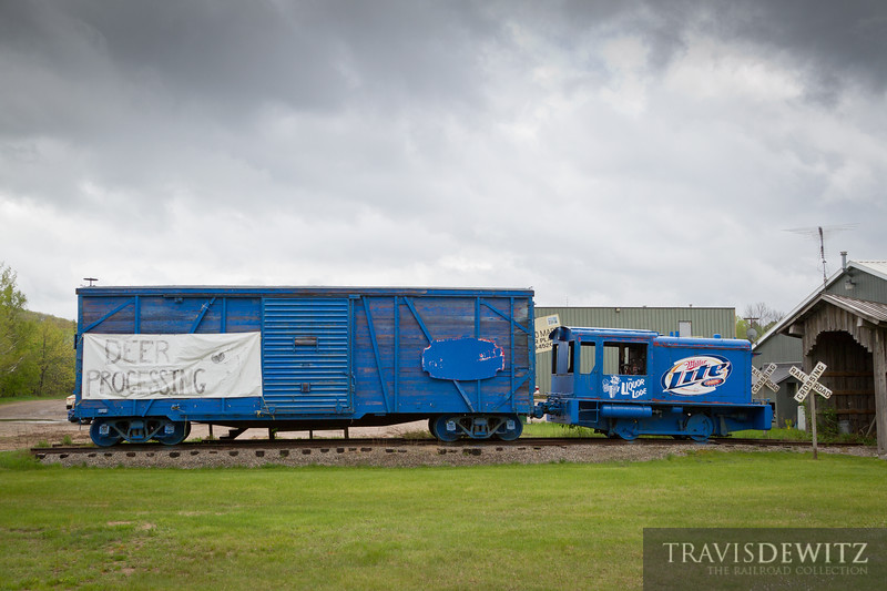 """The Miller Lite Liquor Lode does deer processing. Crandon, WI  Travis Dewitz <a href=""""http://www.therailroadcollection.com/latest-works/"""" target=""""_blank"""">The Railroad Collection</a>"""