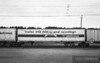 """Triple Crown RoadRailer special paint scheme for """"Trailer #10,000 and counting!"""" through Altoona, Wisconsin on the Union Pacific."""