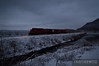 "A Canadian Pacific train heads up the River Sub towards St. Paul along a cold Mississippi River.  Travis Dewitz <a href=""http://www.therailroadcollection.com/latest-works/"" target=""_blank"">The Railroad Collection</a>"