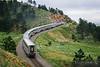 No. 4104 - Amtrak California Zephyr - Coal Creek Canyon, Colo.