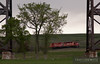 "Canadian Pacific SD40-2 leads a train east on the Carrington Subdivision under the BNSF Jamestown Subdivision in Valley City, ND.  Travis Dewitz <a href=""http://www.therailroadcollection.com/latest-works/"" target=""_blank"">The Railroad Collection</a>"
