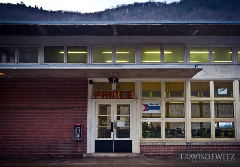Amtrak Station - Prince, West Virginia