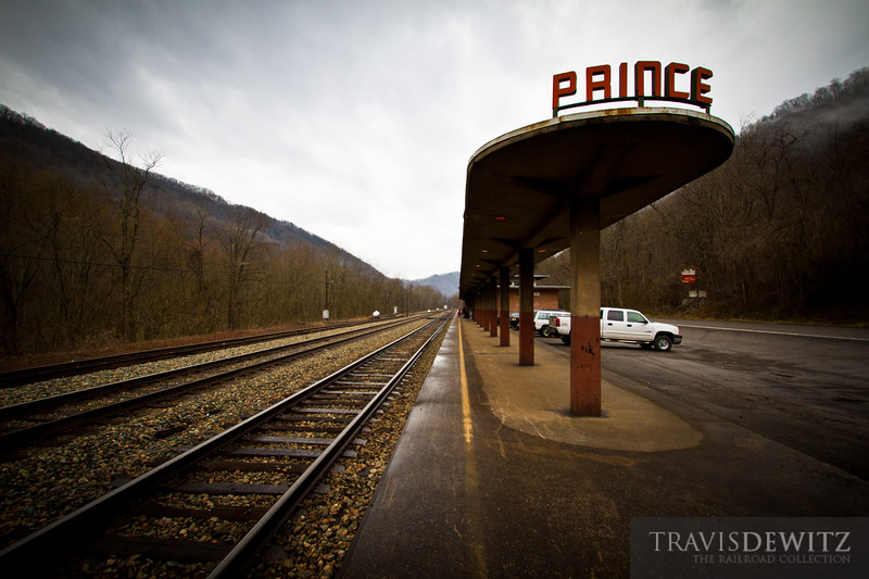 Amtrak Station - Prince, West Virginia