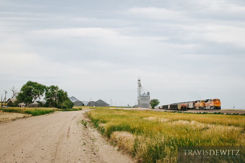 No. 5063 - BNSF Railway - Hemingford, Neb.