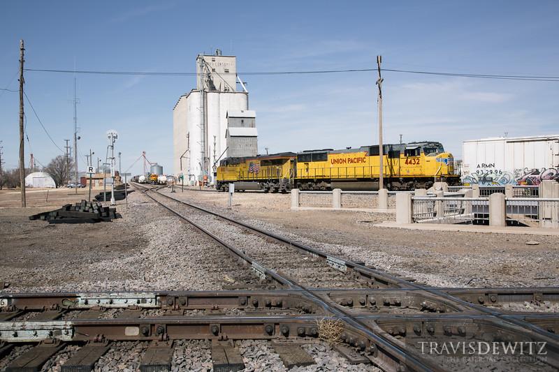 No. 6727 - Union Pacific - Dalhart, Tex.