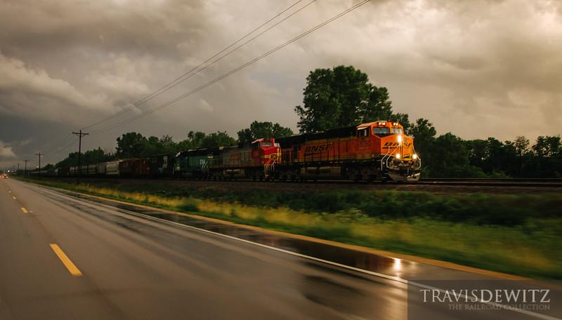 No. 6440 - BNSF Railway - Diamond Bluff, Wis.