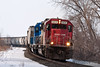 """Soo Line SD-60 6031 speeds down the Canadian Pacific's River Sub at Maple Springs, Minnesota.  Travis Dewitz <a href=""""http://www.therailroadcollection.com/latest-works/"""" target=""""_blank"""">The Railroad Collection</a>"""