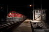 """A Canadian Pacific freight train pounds the diamond in the middle of the night at the Rondout Tower.  Travis Dewitz <a href=""""http://www.therailroadcollection.com/latest-works/"""" target=""""_blank"""">The Railroad Collection</a>"""
