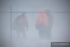 """A BNSF crew change takes in the middle of a blizzard as a coal train is handed off on the property of Dairyland Power Coopertive.  Travis Dewitz <a href=""""http://www.therailroadcollection.com/latest-works/"""" target=""""_blank"""">The Railroad Collection</a>"""