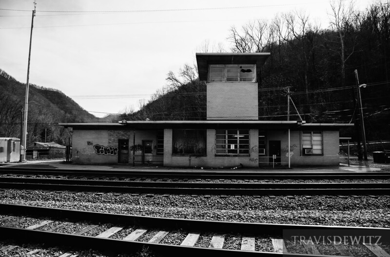 Ex C&O yard office in Handley, West Virginia is still in use along the CSX mainline.