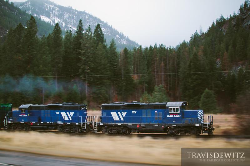 No. 7829 - Montana Rail Link - Paradise, Mont.
