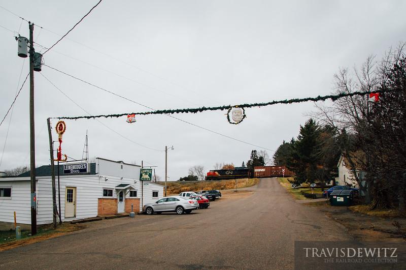 No. 3413 - Canadian National - Albertville, Wis.