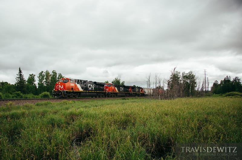 No. 4970 - Canadian National - Gordon, Wis.