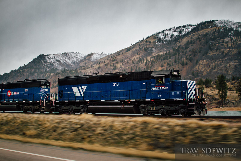No. 7757 - Montana Rail Link - Perma, Mont.
