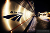 "A late Amtrak Empire Builder arrives on a cold night at La Crosse, Wisconsin.  Travis Dewitz <a href=""http://www.therailroadcollection.com/latest-works/"" target=""_blank"">The Railroad Collection</a>"