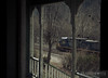 "CSX 324 can be seen out the window of an old home in Thurmond, West Virginia.  Travis Dewitz <a href=""http://www.therailroadcollection.com/latest-works/"" target=""_blank"">The Railroad Collection</a>"