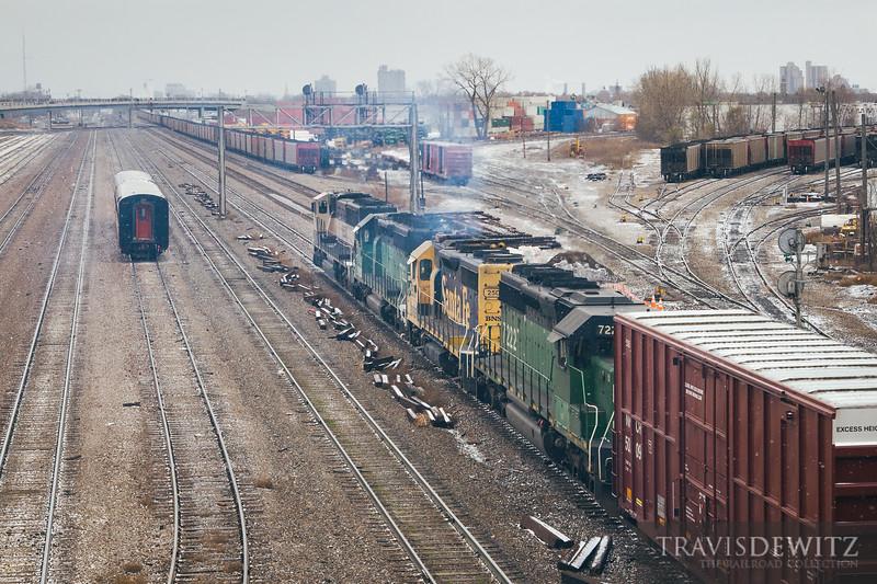 No. 8140 - BNSF Railway - Minneapolis, Minn.