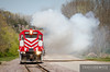 "Wisconsin & Southern GP38 3801 gives a smoke show in Rock Springs, WI.  Travis Dewitz <a href=""http://www.therailroadcollection.com/latest-works/"" target=""_blank"">The Railroad Collection</a>"