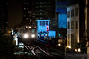 "Sparks fly and paint CTA MOW workers in a blue glow as a CTA train passes Tower 18 in downtown Chicago.  Travis Dewitz <a href=""http://www.therailroadcollection.com/latest-works/"" target=""_blank"">The Railroad Collection</a>"