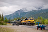 Alaska Railroad Passenger Train